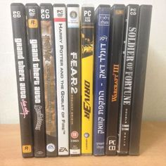 PC DVD Video Games Harry Potter GTA F.E.A.R Driv3r Donald Duck F.E.A.R FarCry2