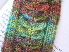 Backbone Bookmark | Knit One, Blog Two