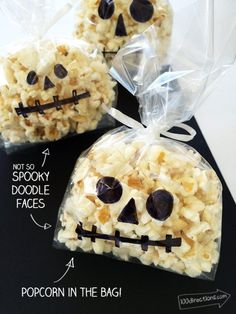 Make a whole bunch of popcorn bags