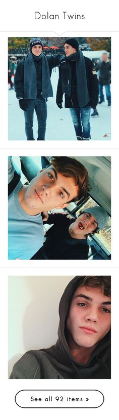 """""""Dolan Twins"""" by rxdlbenz ❤ liked on Polyvore featuring dolan twins, dolan, jewelry, earrings, mirrored jewelry, ethan dolan, cuties, ppl, tops and blue top"""
