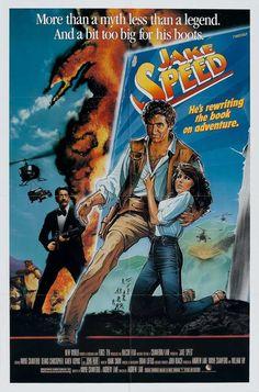 Jake Speed (1986)Stars: Wayne Crawford, Dennis Christopher, Karen Kopins, John Hurt, Leon Ames, Donna Pescow ~  Director: Andrew Lane