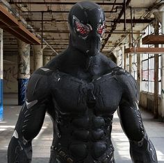 This would be perfect for Black Spider man. CW Arrow or even a DC movie would work_Iron Spider Tech Gear homemade Amazing Spiderman, Spiderman Noir, Spiderman Suits, Spiderman Art, Marvel Dc Comics, Marvel Heroes, Marvel Avengers, Cosplay Armor, Cosplay Anime