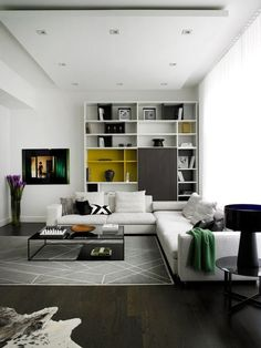 Living Room with Fireplace Design and Ideas That will Warm You All Winter #livingroomdesignsmodern
