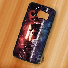 Last Supper Nebula Star Wars Retro - Samsung Galaxy S7 S6 S5 Note 7 Cases & Covers