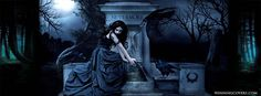 crows gothic pic | ... grave-never-more-crow-crows-facebook-timeline-cover-banner-for-fb.jpg