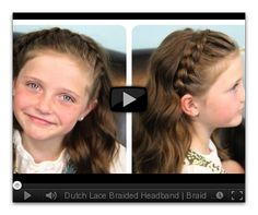 Cute Girls Hairstyles   5-Minute Hairstyle Video Tutorials!!! Great! The best hair blog there is!
