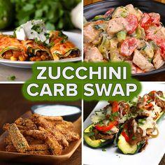 5 Amazing Zucchini Carb Swaps