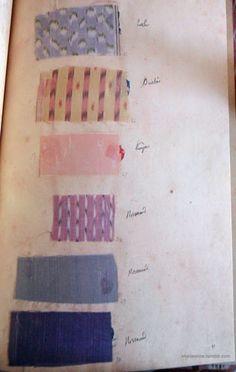 Marie Antoinette's Wardrobe Book, 1782