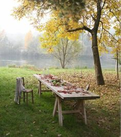 One day, when we're old and gray, we'll sit together under a tree, wondering why everyone moves so fast when our world is pleasantly still Country Life, Country Living, Outdoor Spaces, Outdoor Living, Relax, Farm Life, Garden Inspiration, Garden Furniture, Garden Landscaping