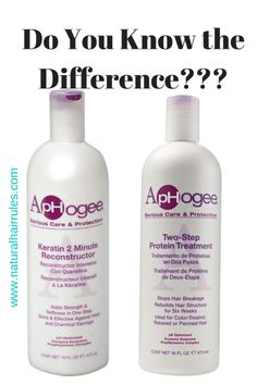 These two Aphogee products are often confused but they have some very distinct differences that I know that you and your hair will appreciate. Some of these include the prices, one will leave your …