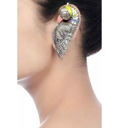 Bird EarCuffs, Chandrika by Amrapali