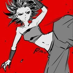 Image result for Caulifla getting turned on when Cabba turns super saiyan and Kale being jealous