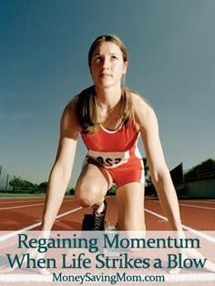 """REGAINING MOMENTUM WHEN LIFE STRIKES A BLOW  Jamie writes, """"Have you had something happen recently that has derailed you? Maybe it was a bad diagnosis, the death of a loved one, or even a divorce? Unexpected disasters can wreak havoc on your plans, and sometimes… it's hard to recover.  I had one of those unexpected events happen in 2013. Before """"it"""" happened, I was so motivated! I felt like I had direction and vision for each part of my life. I was writing goals every week (and achieving…"""