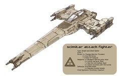 Scimitar Attack Fighter by ~Orpheus7 on deviantART
