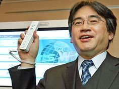 """Sadly Nintendo President Satoru Iwata has passed away. We wish all the best for Nintendo during this time. May he rest in peace, and for us to remember him for the great man he was. He will be remembered for all contributions to gaming, and for the many many memories we have of them.  """"On my business card, I am a corporate president. In my mind, I am a game developer. But in my heart, I am a gamer."""" -Satoru Iwata  #satoruiwata #rip #nintendo #mario #zelda #8bit"""