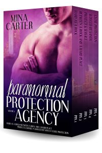 http://mina-carter.com/bookshelf/paranormal-romance/paranormal-protection-agency-volume-1/