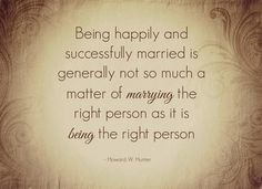 """""""Being happily and successfully married is ."""" 28 tips for every Mormon couple: Marriage advice, encouragement from LDS leaders Lds Quotes, Inspirational Quotes, Gospel Quotes, Putting On Makeup, Marriage Advice, Marriage Qoutes, Marriage Goals, Happy Marriage, How To Apply Makeup"""