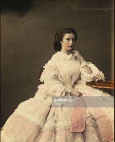 De jonge keizerin Elisabeth.