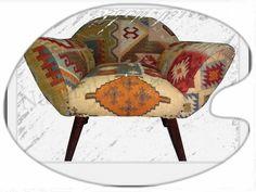 MahaRaja #Sofa  Natural Fibres Export comes with Traditional Kilim Wooden Sofa