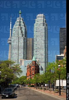 Flat Iron Building, Toronto, Ontario