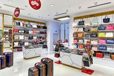 9b799e0fdbc11 Matmazel Passend zum Corporate Identity hat Shopline Ladenbau ein modernes  Design entworfen und umgesetzt. Alles