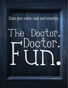 <3 The Doctor.
