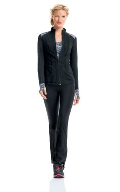 Every Day - 01 - CAbi Spring 2014 Collection - I don't usually care for sporty looks, but this jacket is adorable!