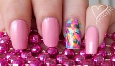 glam glam glam cute GLAM nails just for you on a night out