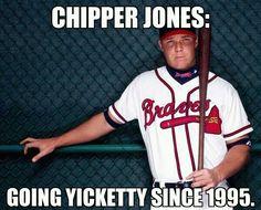 Chipper Jones is the man!