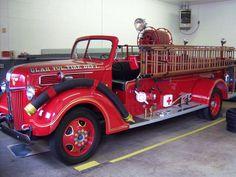 Old Fire Trucks | Old fire Truck - Fire Engineering Training Community
