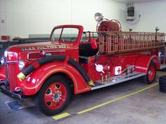 Old Fire Trucks | Old fire Truck - Fire Engineering Training Community