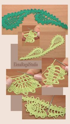 Beautiful Hand Crochet 3D Flower Heart Shape Cotton Doily White B
