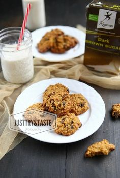 Oatmeal Raisin Cookies, Oatmeal Cookies, Chocolate Cookies, Easy Cake Recipes, Cookie Recipes, Food Tasting, Bbq Pork, Pastry Cake, Food And Drink