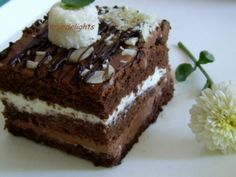 Sweet Desserts, Dessert Recipes, Something Sweet, Chocolate Cake, Caramel, Vegetarian, Sweets, Candy, Healthy
