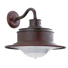 """South Street 12"""" High Outdoor Old Rust Wall Light"""