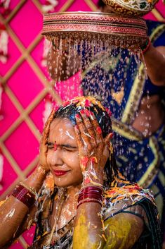 Indian wedding rituals for bride Lehenga Wedding, Wedding Rituals, Lehenga Saree, Wedding Preparation, Mehendi, Candid, Real Weddings, Indian, Bride