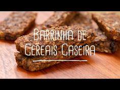 Barrinha de cereais caseira - Lucilia Diniz