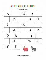 free alphabet worksheet from www.preschool-printable-activities.com