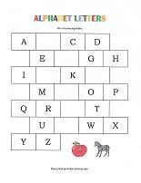 free alphabet worksheet from www.preschool-printable-activities.com I still can't wrap my brain around the idea that my 3 year old should be writing letters already but here we go...