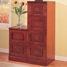 Avignon Wooden Lateral File Cabinet | Lateral file cabinet ...