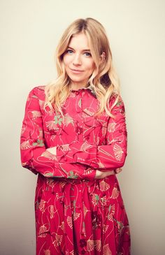 Sienna Miller Style, Beautiful People, Beautiful Women, Dress Up, High Neck Dress, Girl Inspiration, British Actresses, Her Style, Celebrities