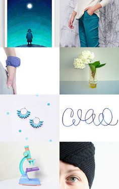 Blue day! by Eshkar Neiger on Etsy--Pinned with TreasuryPin.com