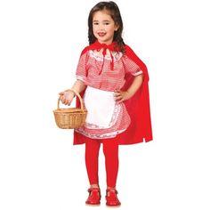 Disfraz de Caperucita Roja Infantíl.