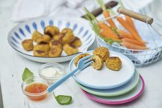 Salmon Balls With Sweet Potato and Sweetcorn
