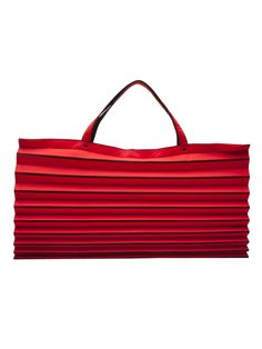 Issey Miyake Vintage Iconic Pleated Tote - Amarcord Vintage Fashion - farfetch.com