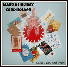 Check it Out! with Dawn: #TBCCrafters Craft Hop - Holiday Card Holder @Dawn Pruitt