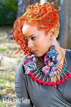 braidedkinks:  ANOTHER DOPE LOOK FROM KINKY ROOTZ SALON… NIICCCEEEE