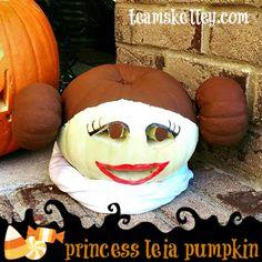 Team Skelley : Halloween Week: Princess Leia Pumpkin Halloween Week, Princess Leia, Pumpkin Ideas, Photo And Video, Starwars, Blog, Star Wars, Blogging