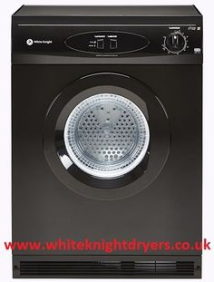 Black White Knight 44AB Reverse Vented Tumble Dryer | White Knight Appliances 6kg £150