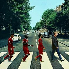 Liverpool and abbey road Liverpool Logo, Liverpool Players, Liverpool History, Liverpool Football Club, Mohamed Salah Liverpool, Juergen Klopp, Liverpool Wallpapers, This Is Anfield, Premier League Champions